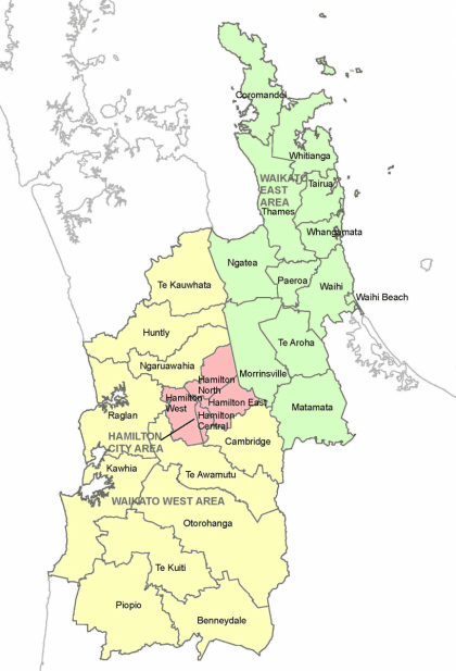 Waikato District